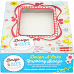 Asda Design Your Own Photo Cake : Calories in Asda Design a Cake Raspberry Sponge, Nutrition ...