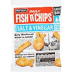 calories in burton 39 s daily fish 39 n 39 chips salt vinegar grab bag 40g nutrition information. Black Bedroom Furniture Sets. Home Design Ideas