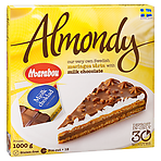 Calories in Almondy Meringue Tårta with Marabou Milk ... Almondy