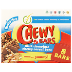 Calories in Aldi Harvest Morn Chewy Milk Chocolate Cereal Bars 8 x 22g ...