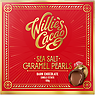 Willie's Cacao Sea Salt Caramel Black Pearls Dark Chocolate 150g