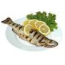 Mackerel - Spanish - Cooked - Dry Heat