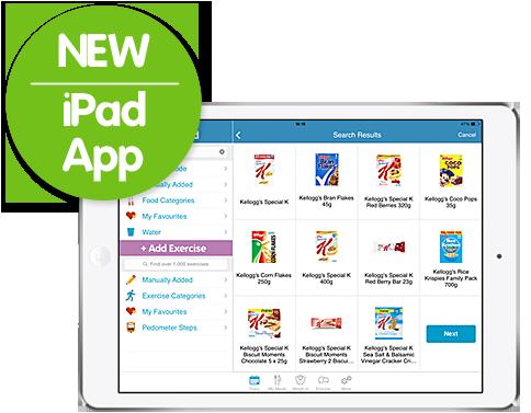 Calorie Counter iPad App